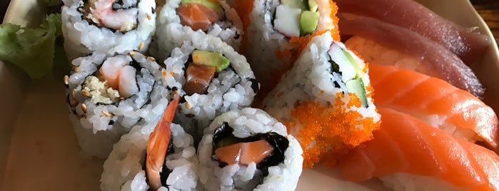 Okasan Sushi is one of London Recommended Restaurants.