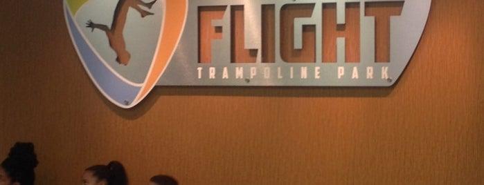 Flight Trampoline Park Springfield is one of Lieux qui ont plu à Jeanne.