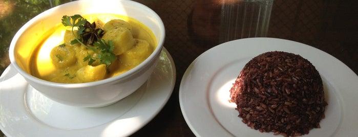 K'NYAY Khmer & Vegan Cuisine is one of Laci 님이 저장한 장소.