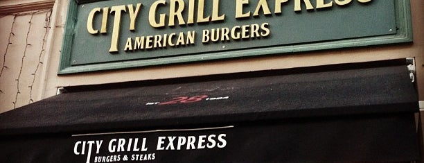 City Grill Express is one of Tempat yang Disukai Юлия.