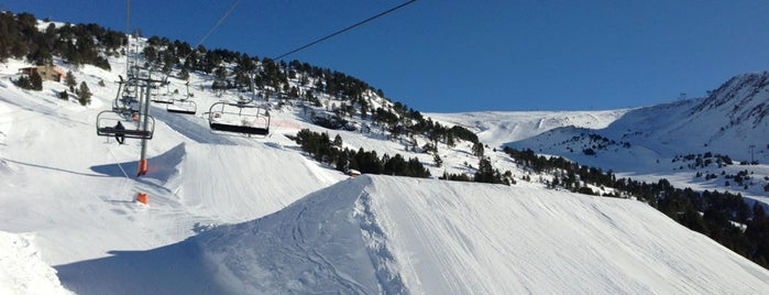 Snowpark El Tarter is one of Lugares favoritos de Andrey.