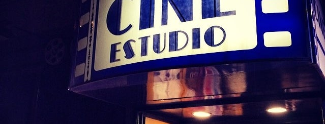 Pequeño Cine Estudio is one of Try.