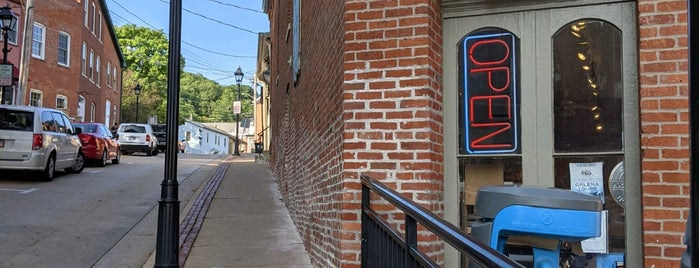 Historic Downtown Galena is one of Illinois's Greatest Places AIA.