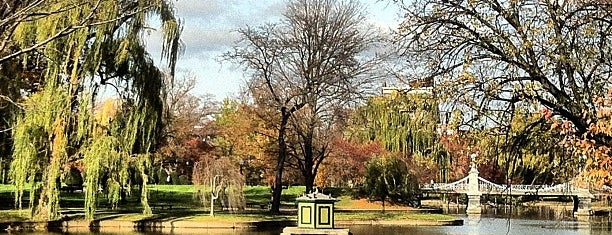 Boston Public Garden is one of North America.