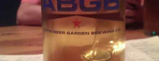 The ABGB is one of Austin.