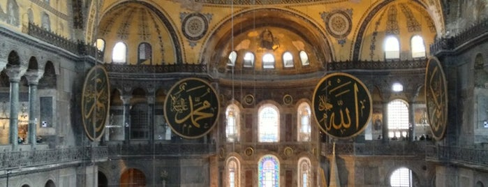ฮาเยียโซเฟีย is one of Must Visit Place in Istanbul (Turki).