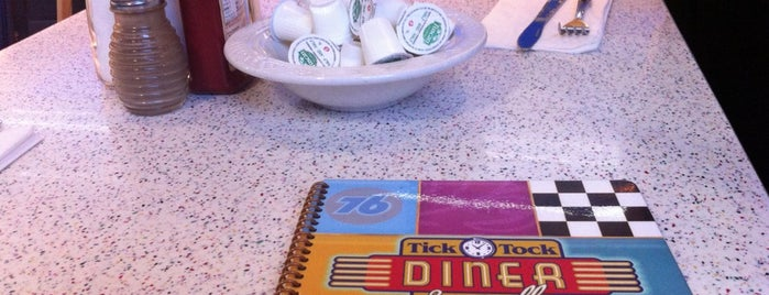 Tick Tock Diner is one of Best Cheap Food (College Student Guide).