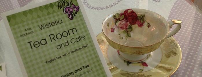 Wisteria Tea Room & Cafe is one of RESTAURANTS II.