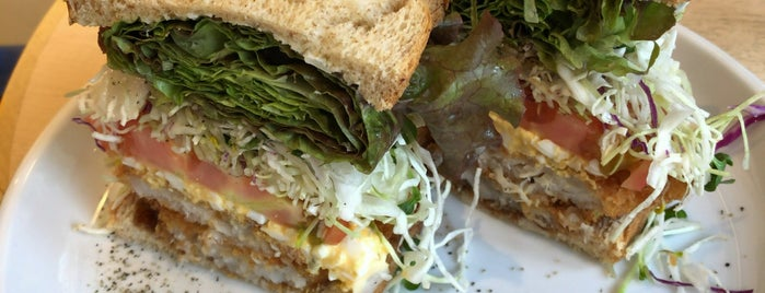 & sandwich. is one of ウーバーイーツで食べたみせ.