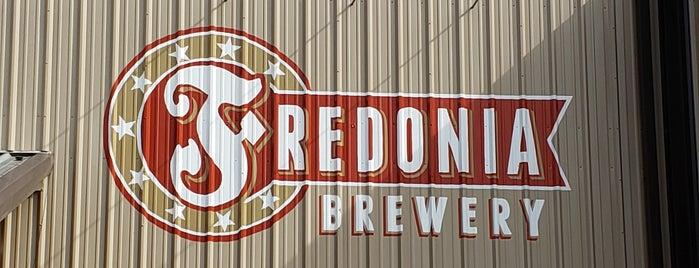 Fredonia Brewery is one of Tempat yang Disukai Chuck.