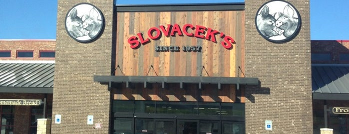 Slovacek's is one of Lieux qui ont plu à Wade.