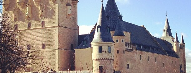 Alcázar de Segovia is one of Hopefully, I'll visit these places one day....