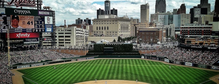 Comerica Park is one of MLB Ballparks.