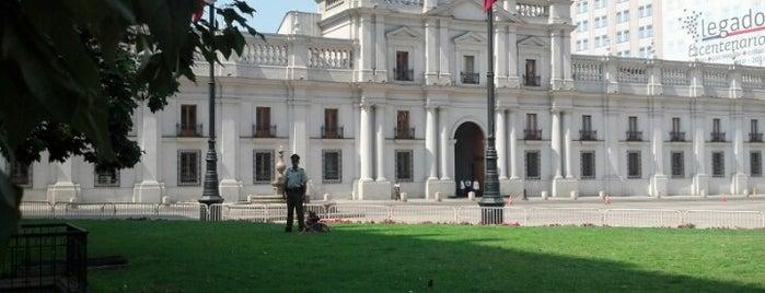 Palacio de La Moneda is one of Minha Santiago (Chile).