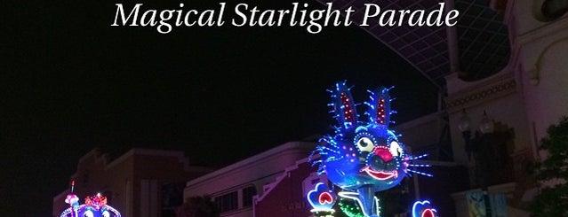 マジカル・スターライト・パレード/Magical Starlight Parade is one of Universal Studios Japan.