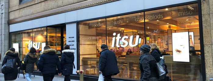 itsu is one of Because Foursquare F*cked Up Their List Feature 2.