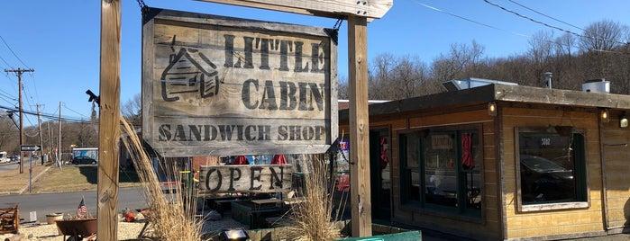 Little Cabin Sandwich Shop is one of Tempat yang Disukai Seth.