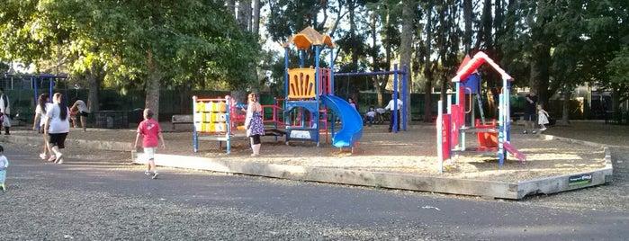 Western Springs Playground is one of Lugares favoritos de Ben.