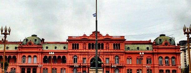 Casa Rosada is one of Bs As.