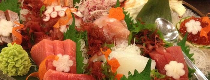 Aji is one of Ichiro's reviewed restaurants.