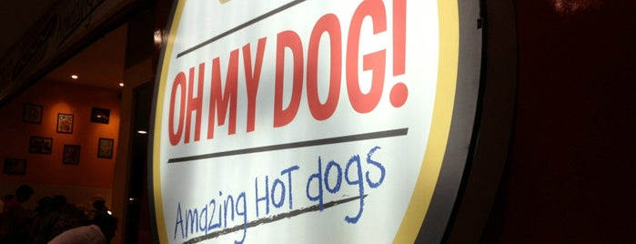 Oh My Dog! Amazing Hot Dogs is one of APROVADOS.