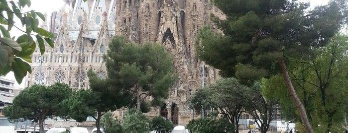 Plaça de Gaudí is one of Spain. Barcelona.