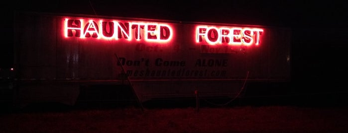 Haunted Forest is one of DMHauntedHouses.com all Des Moines haunted houses.