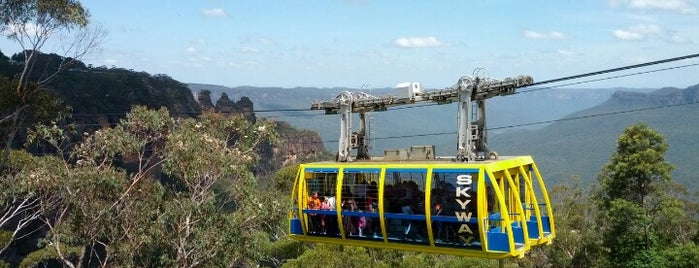 Scenic World is one of Aussie Trip.