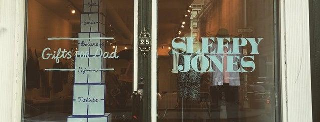 Sleepy Jones is one of 11 Howard's SoHo Discounts.