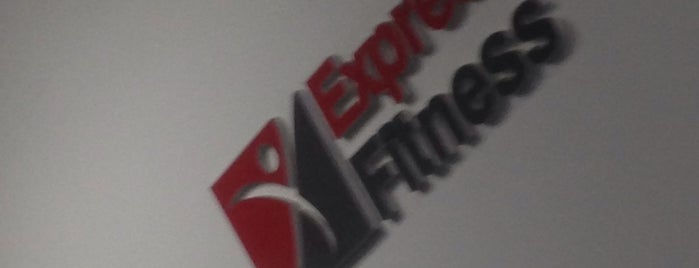 Express Fitness is one of Orte, die Kim gefallen.