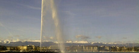 Jet d'eau de Genève is one of Discover Geneva.