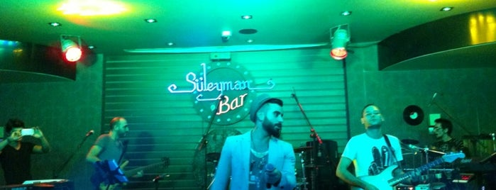 Süleyman Bar is one of Lugares favoritos de Mustafa.