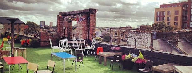 Dalston Roof Park is one of Best of London.