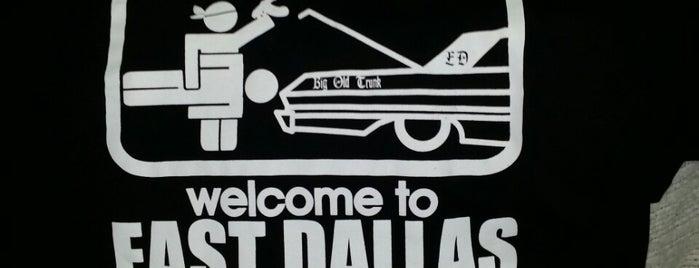 East Dallas is one of Tempat yang Disukai Will.