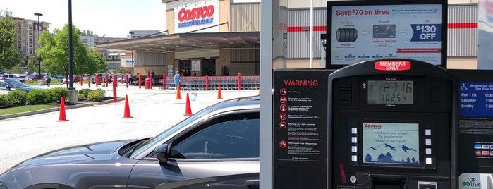 Costco Gasoline is one of Orte, die Social gefallen.