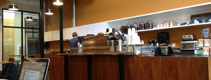 Ristretto Roasters is one of Seattle / Portland.
