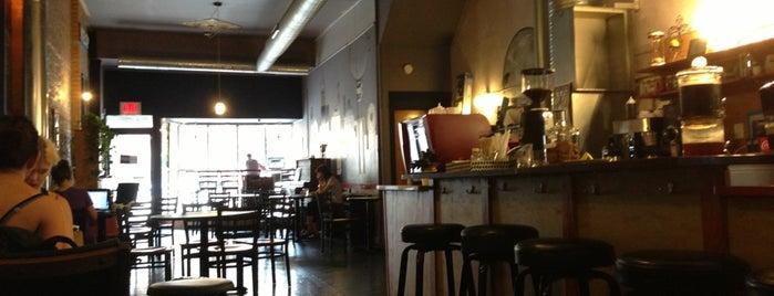 Nitecap Coffee Bar is one of Coffee Tea and Sympathy.