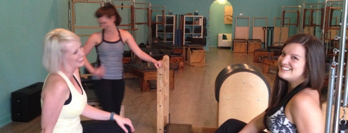 COR Pilates is one of Charleston.