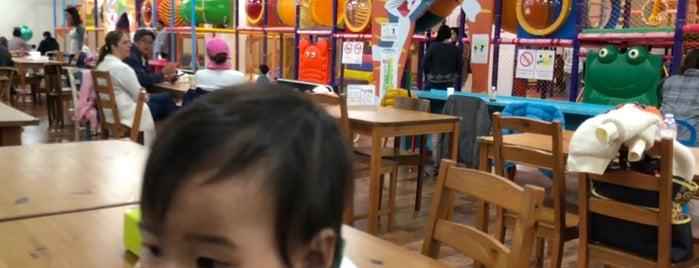 Xystus Kids Land is one of Orte, die Stephanie gefallen.