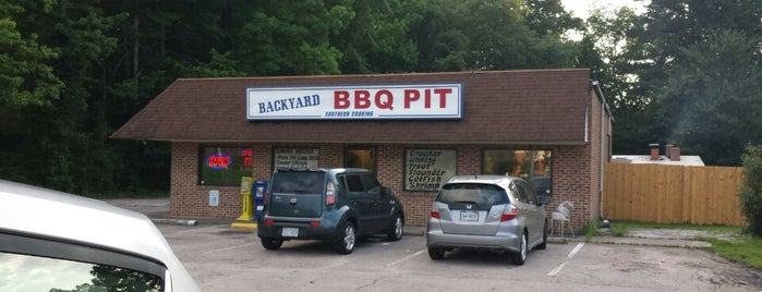 Backyard BBQ Pit is one of nc2015.