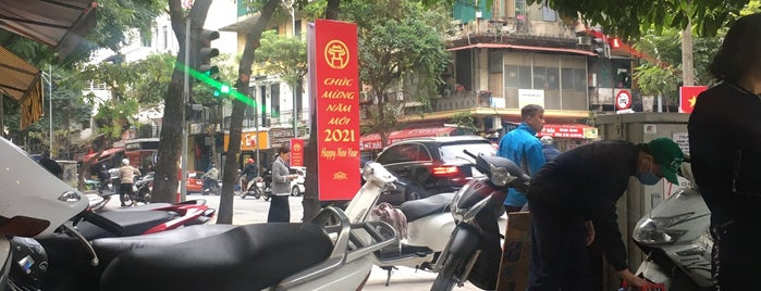 Cafe Lâm is one of Hanoi.
