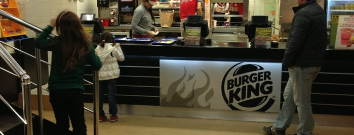 Burger King is one of Orte, die Olcay gefallen.