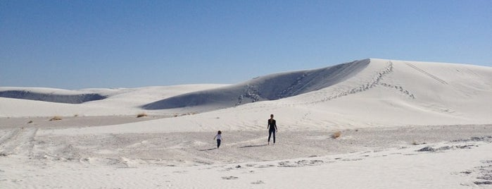 White Sands National Park is one of New Mexico.