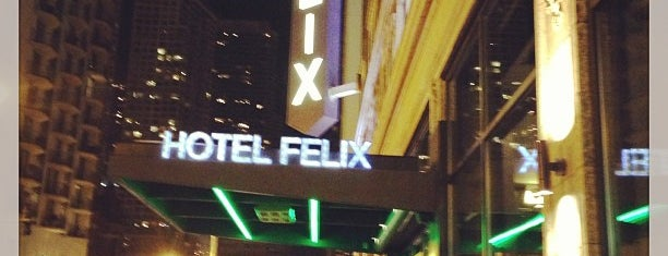 Hotel Felix is one of Chicago.