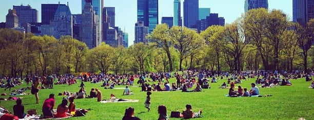 Sheep Meadow is one of New York City.