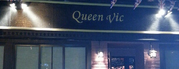 Queen Vic is one of NYC Nights: Ales, beers, cocktails & night affairs.