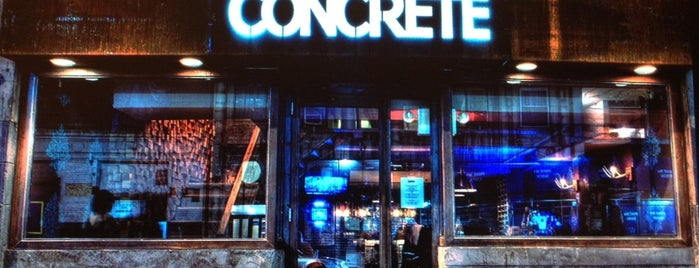 Concrete is one of comer.