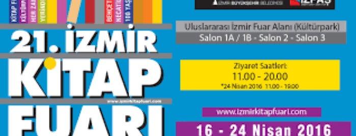 21. Tüyap İzmir Kitap Fuarı is one of Posti che sono piaciuti a Berkan.