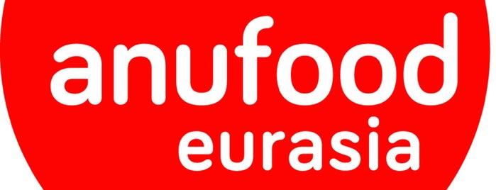 Anufood Eurasia is one of Berkan'ın Beğendiği Mekanlar.