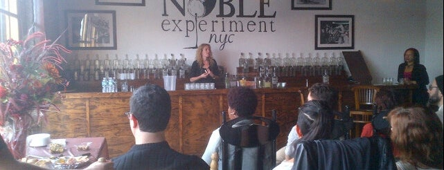 The Noble Experiment is one of NYC Distillery, Winery, and Brewery Tours.